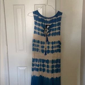 CLEARANCE: Tie dyed dress